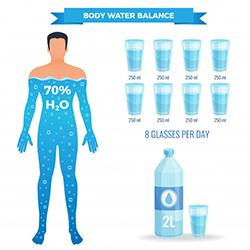 Body water balance