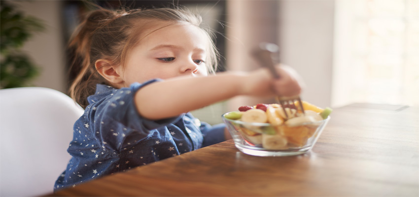 How to start healthy eating habits for kids