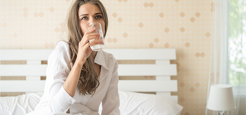 How to avoid dehydration during sleep