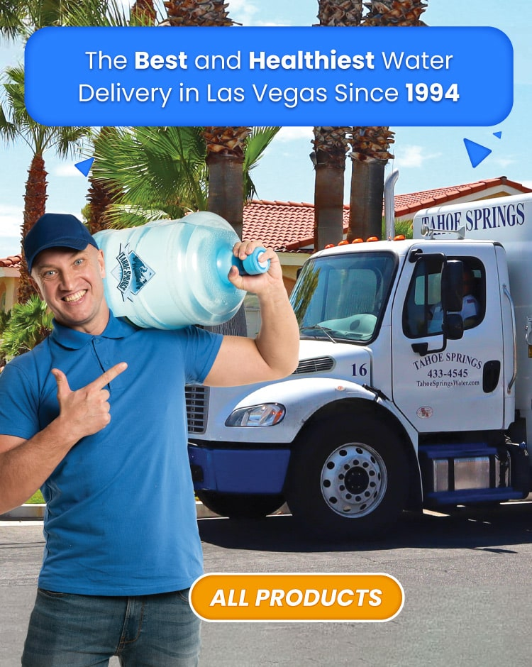 The best and healthiest water delivery in las vegas since 1994, tahoespringswater